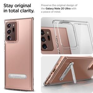 Ốp dẻo Spigen Ultra Hybrid S Galaxy Note 20 ultra (chính hãng)